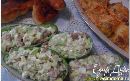 Авокадо с печенью трески рецепты