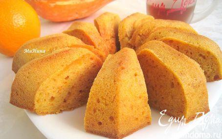 Рецепт Кекс тыквенно-апельсиновый