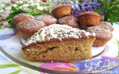 Рецепт Кекс капустно-имбирный