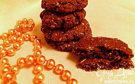 Рецепт Tescoma. Шоколадное овсяное печенье