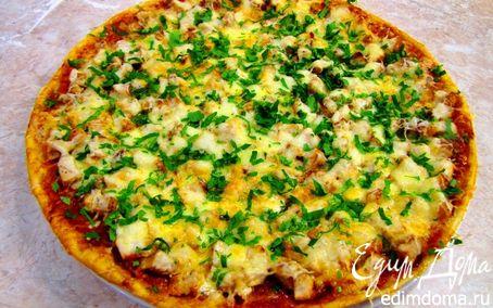 Рецепт Пицца с курицей Галерея (не для РД)
