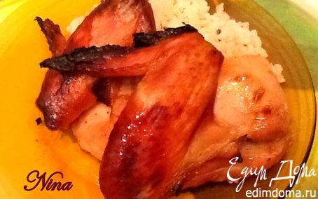Рецепт Курица в горчично-медовом маринаде