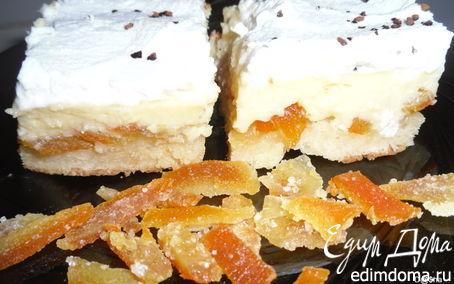 Рецепт Лимонный пирог с цукатами из цитрусовых