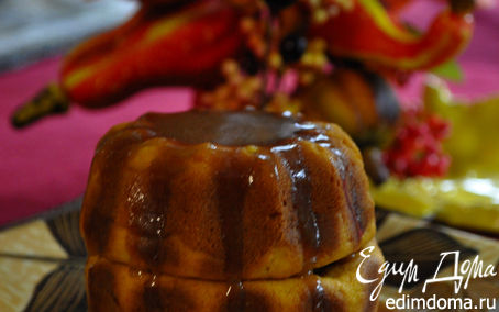 Рецепт Тыквенные мини-кексы