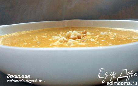Рецепт Чечевично-морковный суп-пюре с имбирем