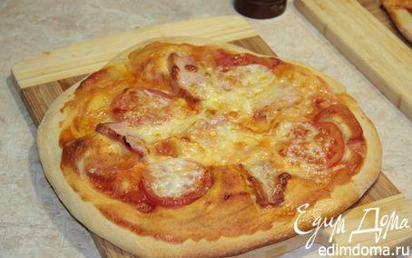Рецепт Пицца по-итальянски по-домашнему