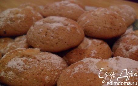 Рецепт Пикантные печеньки с имбирем и корицей