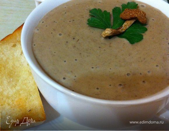 грибной крем суп рецепт дома