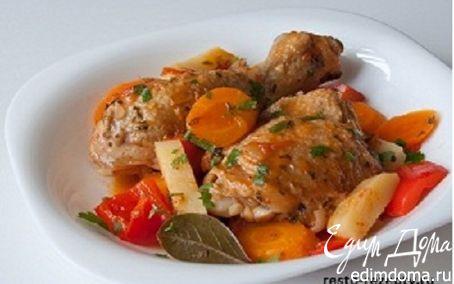 Рецепт Фрикасе из курицы по-креольски
