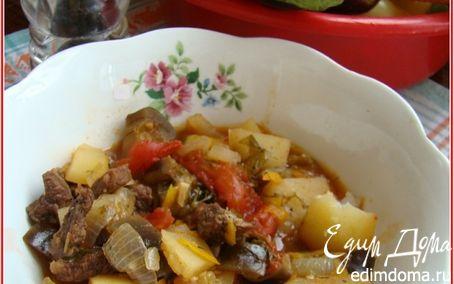 Рецепт ЧАНАХИ (мясо с овощами)