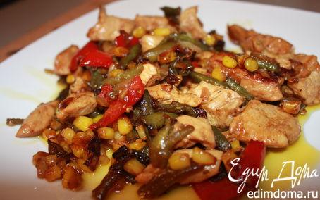 Рецепт Курица по-мексикански