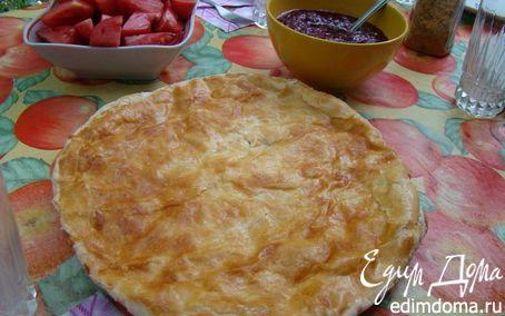 Рецепт Хачапури (грузинская лепешка с сыром)