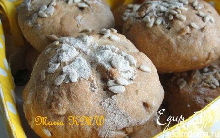 Рецепт Булочки с семечками подсолнуха