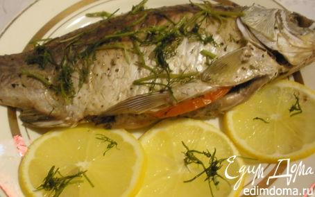 Рецепт Запеченная рыба «Флирт»