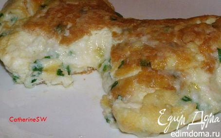 Рецепт Пышный омлет-суфле с тремя видами сыра