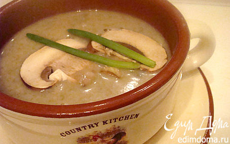 Рецепт Суп-крем из королевских шампиньонов