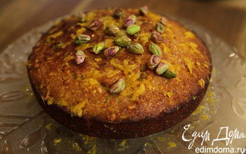 Рецепт Ореховый пирог с апельсиновым сиропом