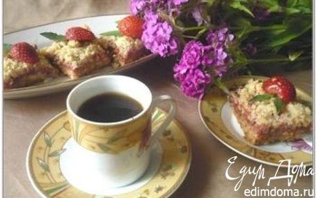 Рецепт Два вида песочного печенья (С клубнично-ревеневой начинкой и творожно-клюквенное). Tescoma