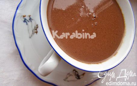 Рецепт Густой горячий шоколад