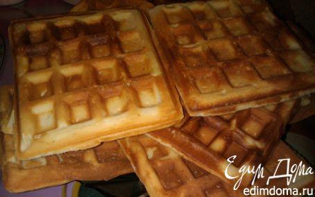 Рецепт Венские вафли в вафельнице