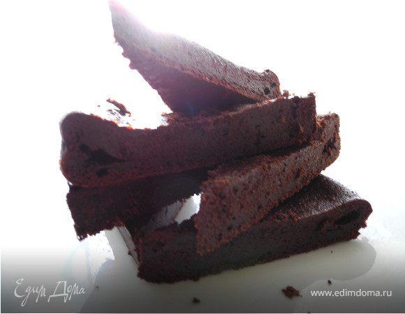"""Шокошок "" или торт шоколадный без муки (Torta di cioccolato senza farina)"