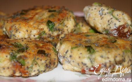 Рецепт Сырники с зеленым луком и укропом