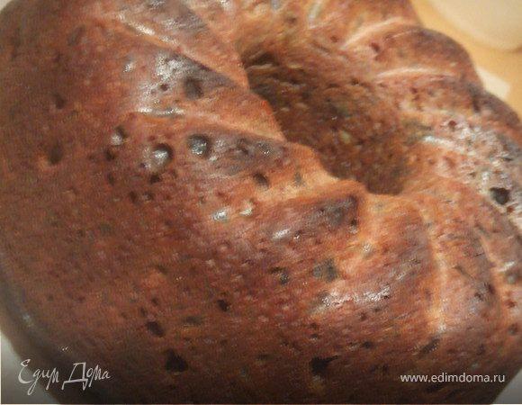 Рождественский фруктовый кекс.