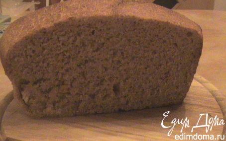 Рецепт Хлеб на закваске с цельнозерновой мукой (бездрожжевой)