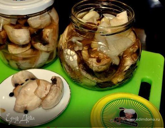 Маринованные грибочки по-польски