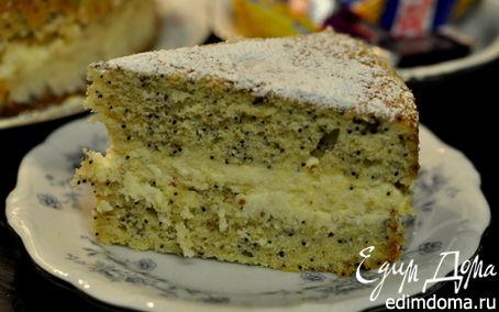 Рецепт Лимонно-маковый торт