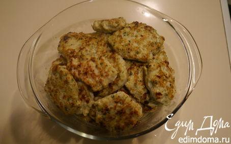 Рецепт Котлетки куриные с зеленушкой