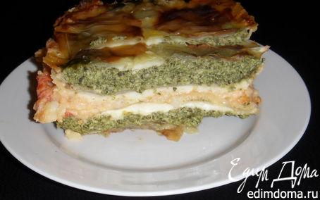 Рецепт Диетическая утопия: капустная имитация лазаньи
