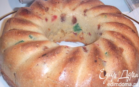 Рецепт Cake aux abricots de mami Delwen – Кекс с курагой от бабули Дельвен