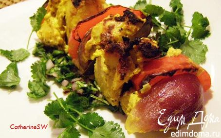 Рецепт Куриные шашлычки в пряном маринаде