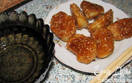 Рецепт Шелковые яблоки. Китайский десерт.