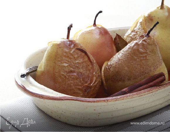 Карамелизированные груши