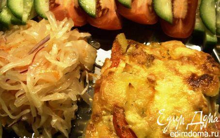 Рецепт Запеканка картофель-овощи- фарш (Auf-lauf)