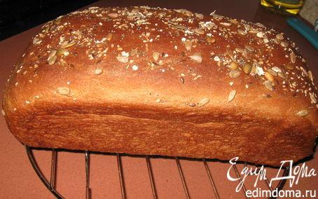 Рецепт Ржаной хлеб на кефире в хлебопечке