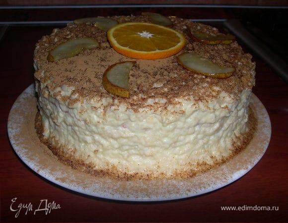 Яблочный тортик