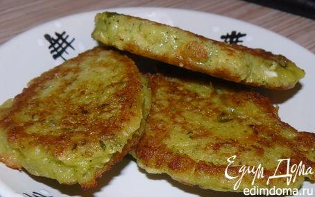 Рецепт Зеленушки (драники с зеленью)
