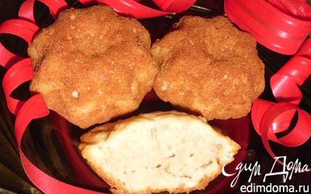 Рецепт Кексы из овсяных хлопьев с корицей