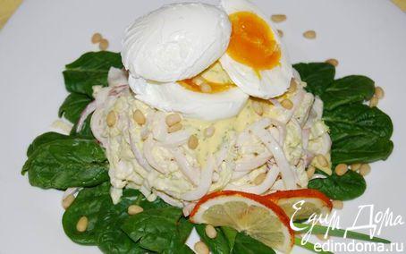 Рецепт Squid-салат