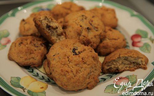 Рецепт Печенье с финиками и орехами