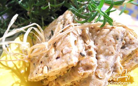 Рецепт Печенье с розмарином и кедровыми орешками