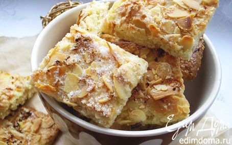 Рецепт Печенье миндально-лимонное