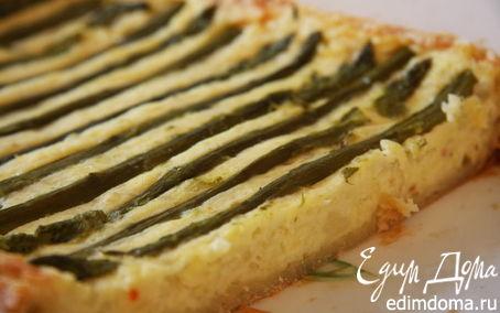 Рецепт Хрустящий пирог со спаржей и картофелем от Джейми Оливера