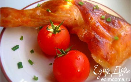 Рецепт Цыпленок с медовой корочкой и ароматом пива (Honey-beer chicken )