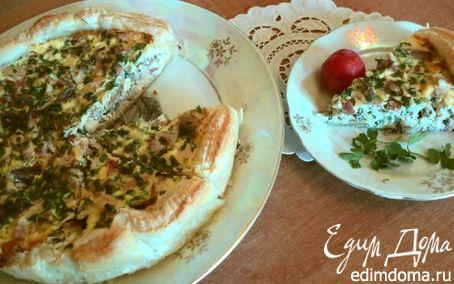 Рецепт Пирог с начинкой из фазана по-охотничьи