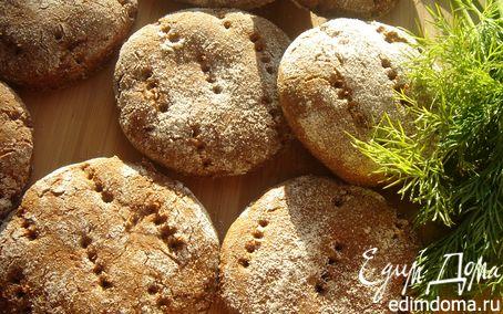 Рецепт Финские ржаные лепешки по-быстрому