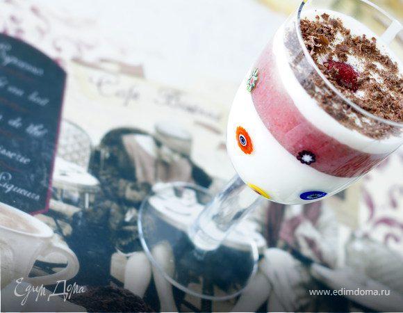 Клубнично-йогуртовый десерт